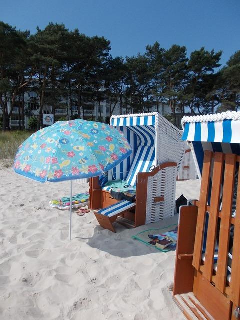 Rügen beach rügen island, travel vacation.