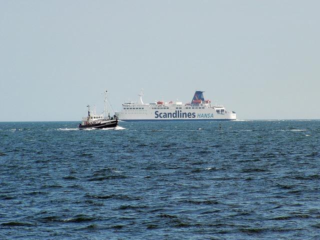 Rügen island ferry ships.