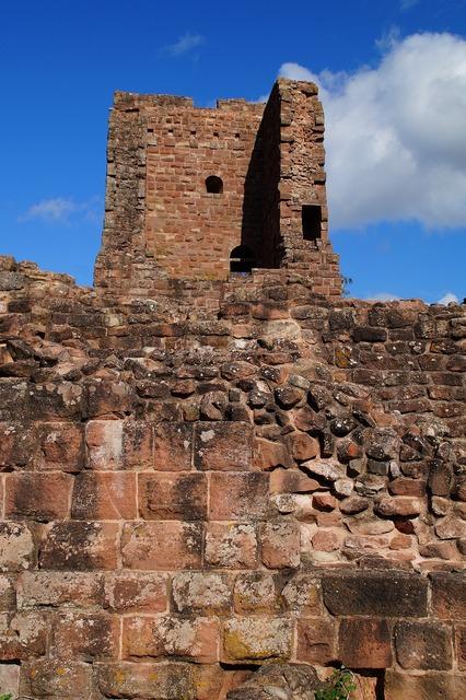 Ruin castle heritage, architecture buildings.