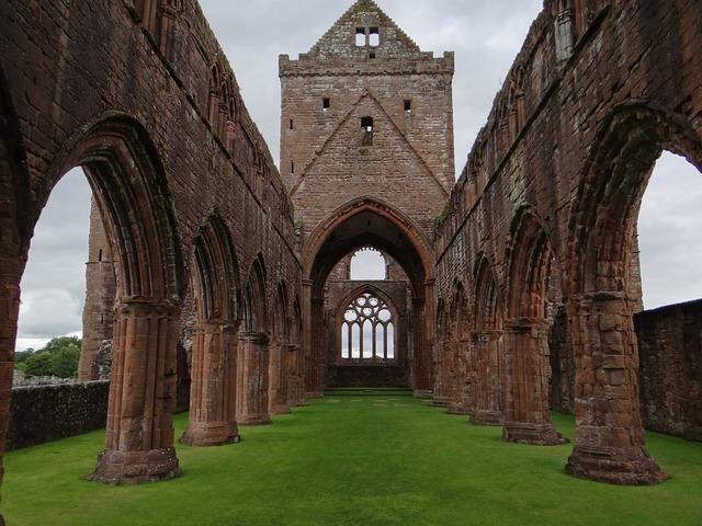 Ruin church chapel, religion.