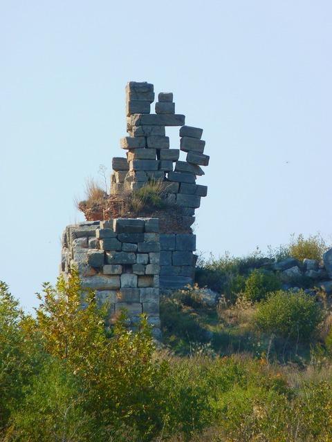Ruin ephesus ruined city.