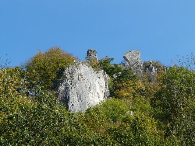 Ruin hohengerhausen ruin castle.