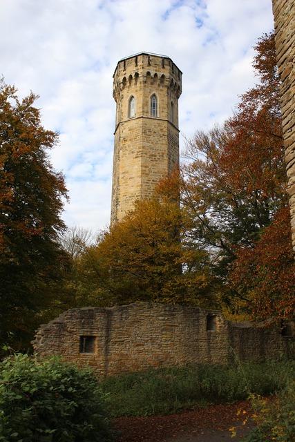 Ruin monument castle, architecture buildings.