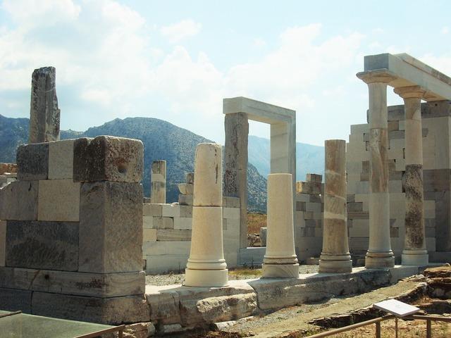 Ruins antique ancient ruins, architecture buildings.