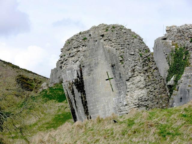 Ruins corfe corfe castle.