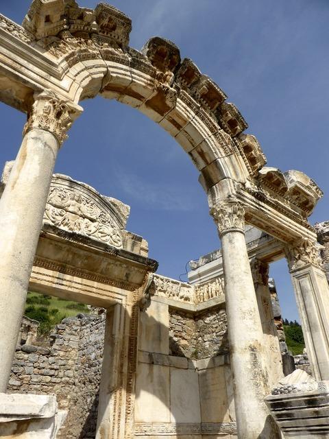 Ruins roman architecture, architecture buildings.