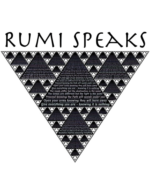 Rumi wisdom pyramids.