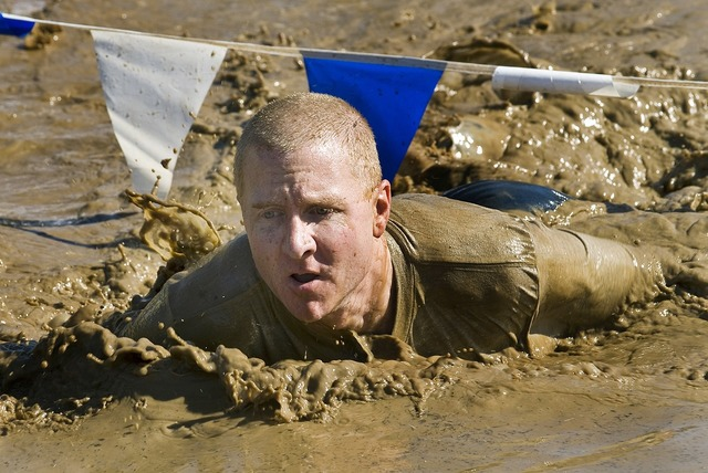 Run mud competition, people.