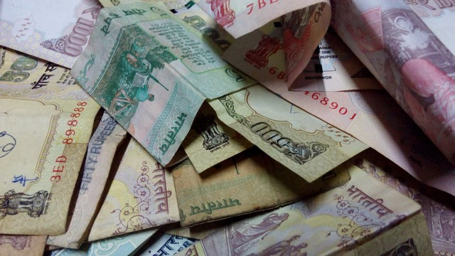 Rupees money indian, business finance.