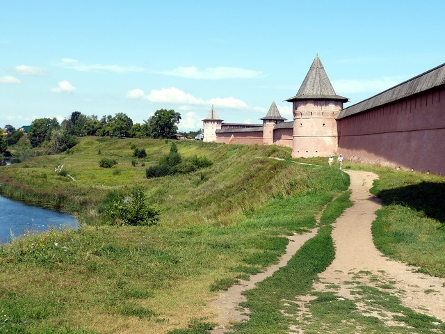 Russia suzdal golden ring.