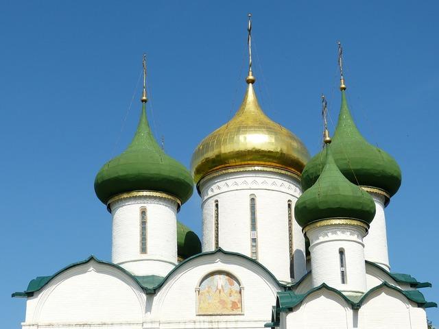 Russia suzdal golden ring, religion.