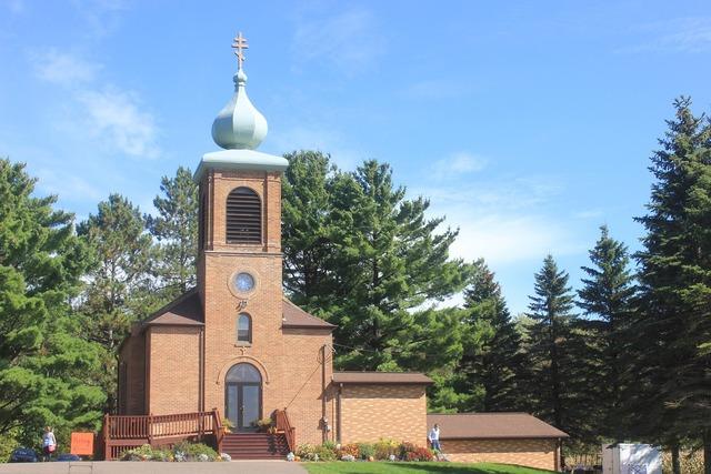 Russian orthodox church onion dome, religion.