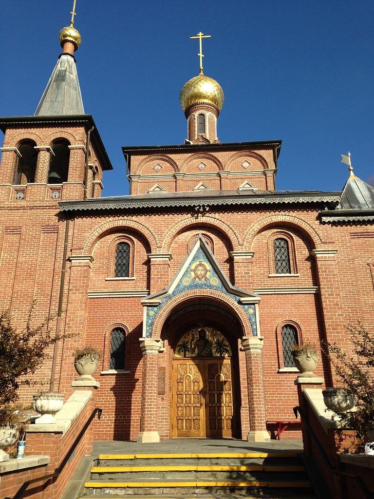 Russian orthodox church, religion.