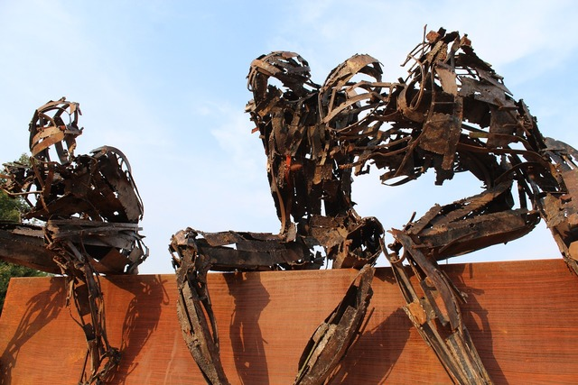 Rusty robot osnago italy.
