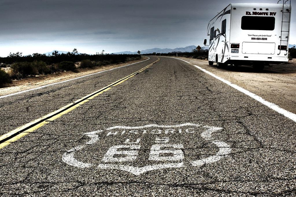 Ruta66 route 66 road, transportation traffic.