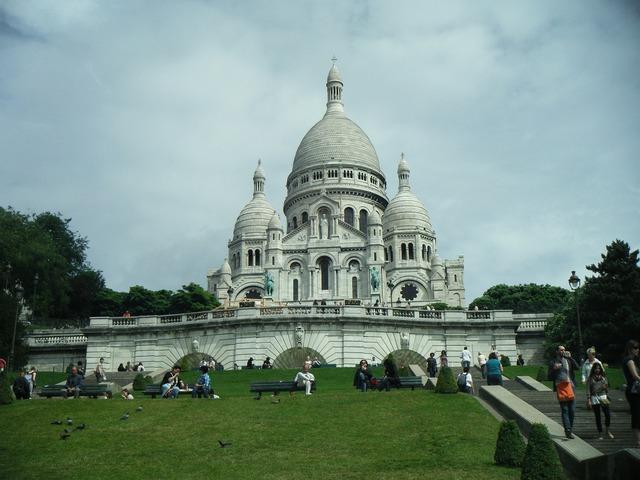 Sacre coeur france paris, religion.