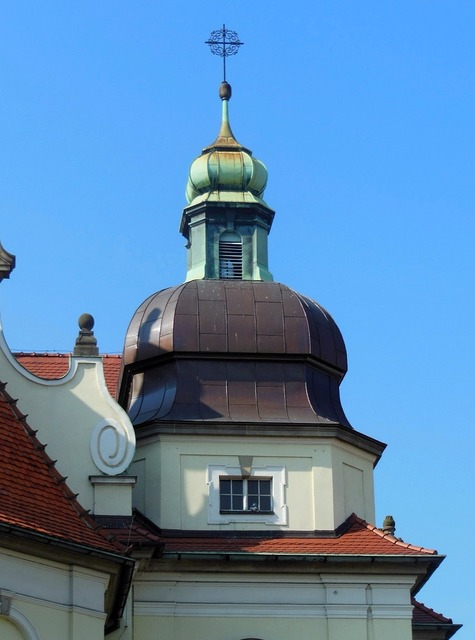 Sacred heart church bydgoszcz baroque, architecture buildings.