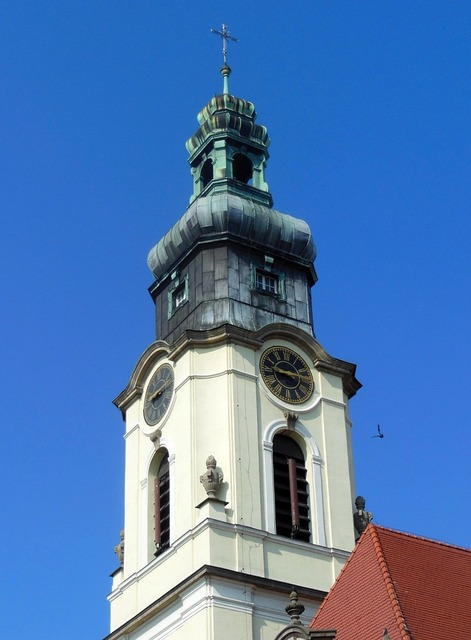Sacred heart church bydgoszcz baroque, architecture buildings.