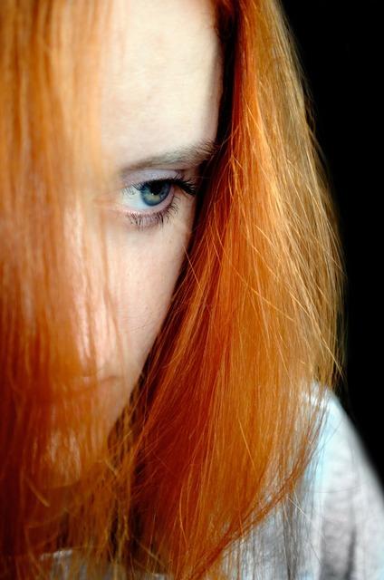Sad woman mood, emotions.