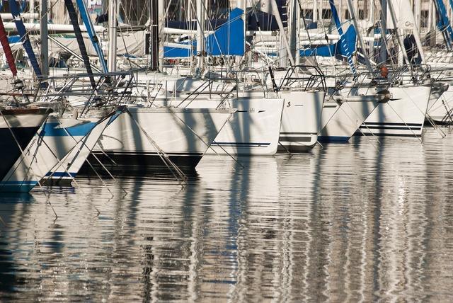 Sailboat boat harbour.