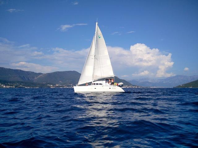 Sailboat boat sea.