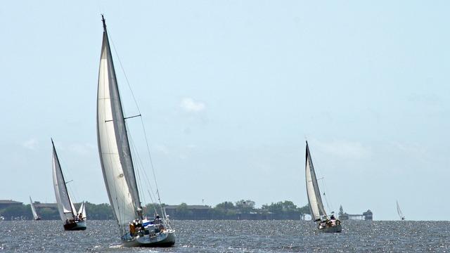 Sailboat boats sea, travel vacation.