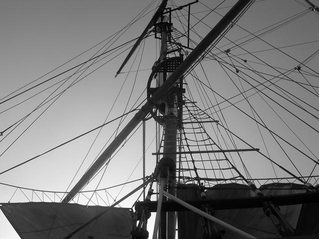 Sailboat marseille port.