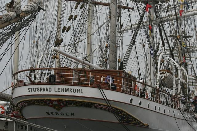 Sailboat sailing ship.