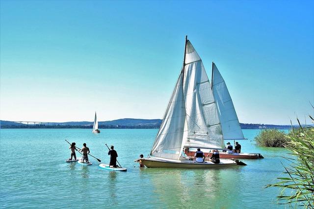 Sailing boat ship balaton.