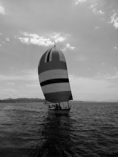 Sailing summer yachting.