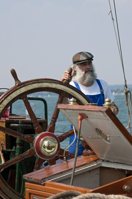 Sailor fisherman man, people.