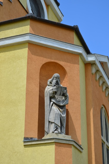 Saint barbara church dorog building, architecture buildings.