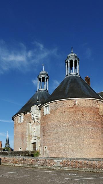 Saint fargeau castle france.