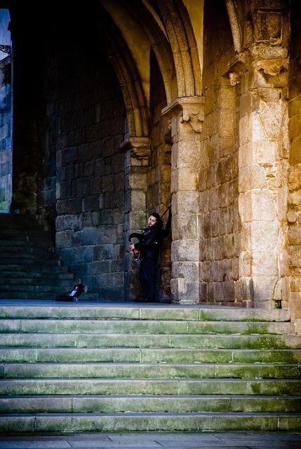 Saint james compostela spain gothic, people.
