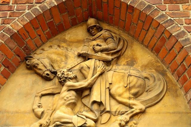 Saint martin emboss portal, religion.