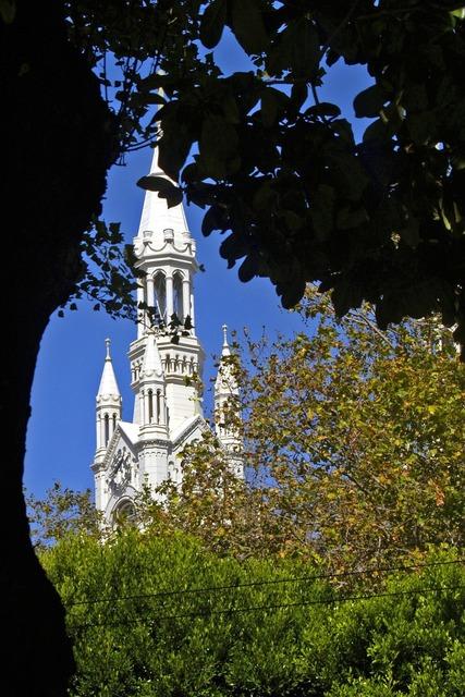 Saint's peter and paul church san francisco, religion.