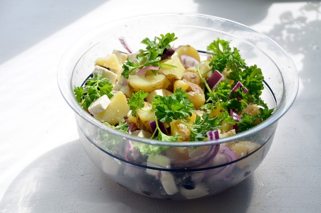 Salad potato salad summer.