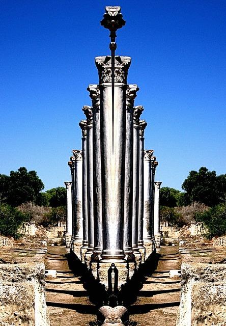 Salamis roman ruins.