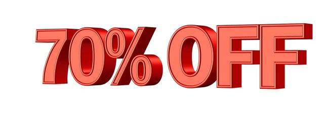 Sale discount shop, business finance.