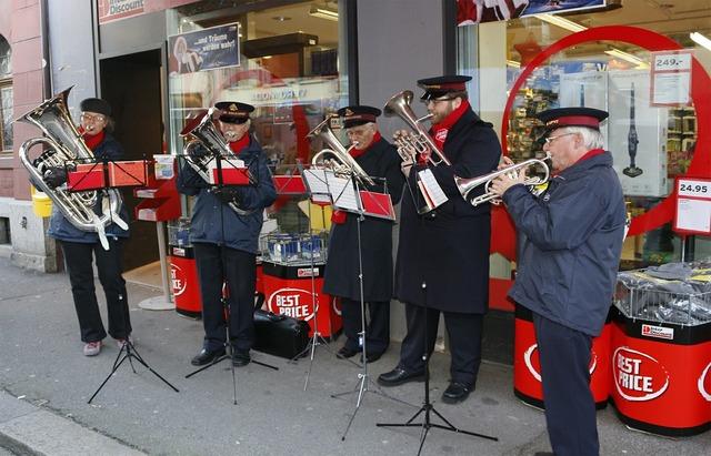 Salvation army christmas music music band, music.