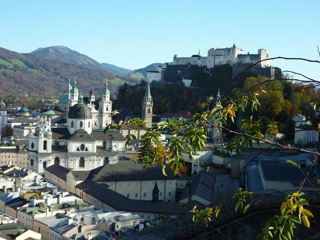 Salzburg fortress austria.