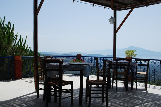 Samos terrace vision.
