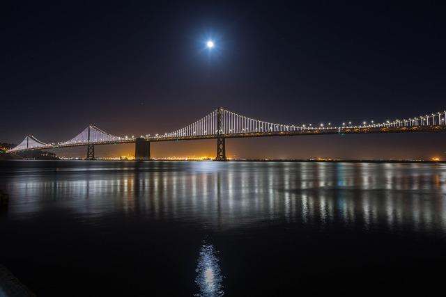 San francisco bay bridge bay, travel vacation.