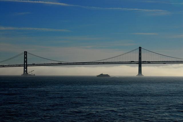 San francisco bay bridge bridge.