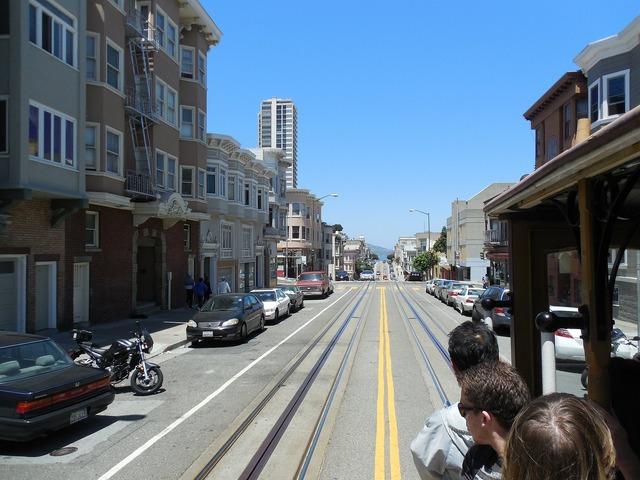 San francisco california urban, architecture buildings.