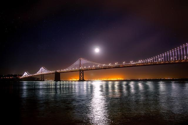 San francisco oakland bay bridge, places monuments.