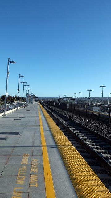 San francisco train rail.