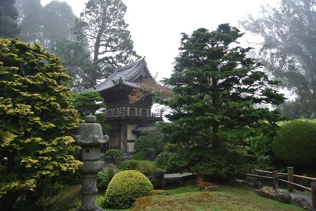 San fransisco fog pagoda.