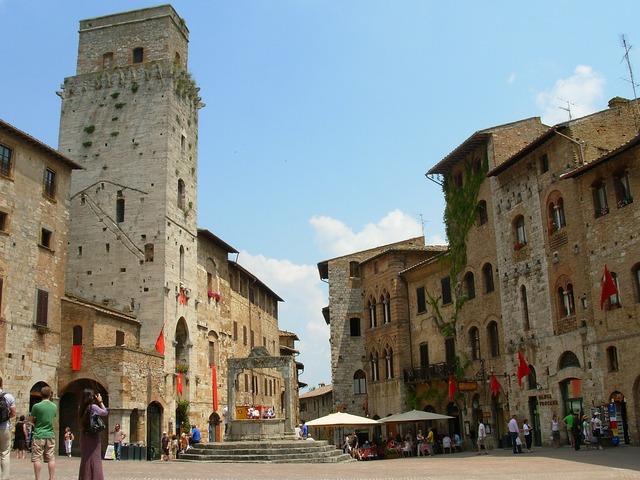 San gimignano buildings architecture, architecture buildings.