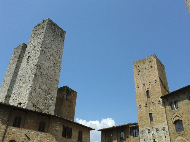 San gimignano romantica, architecture buildings.